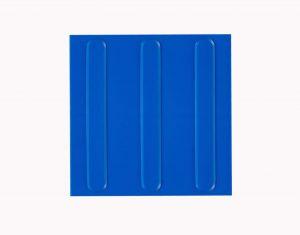 Piso Tátil Direcional azul