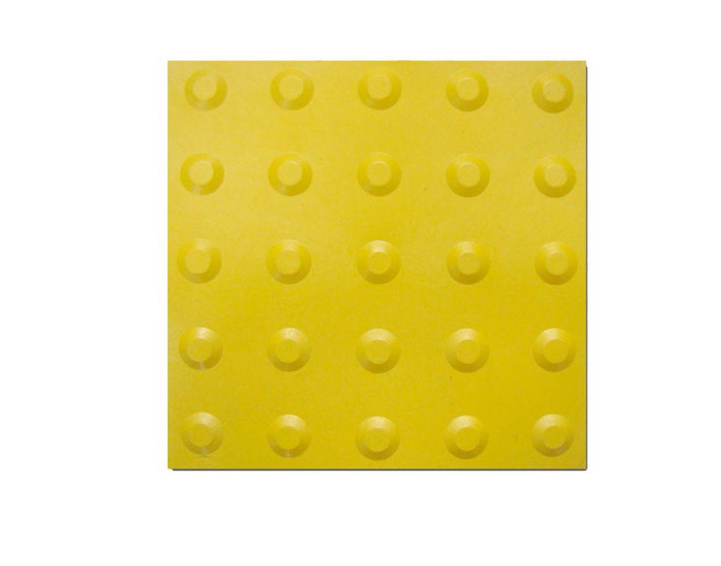 Piso Tátil Alerta Amarelo